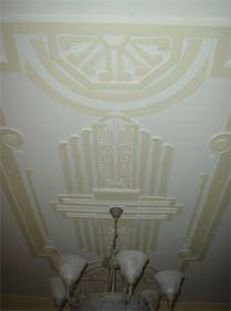 Melbourne Art Deco Ceiling Panels In Melbourne Art Deco